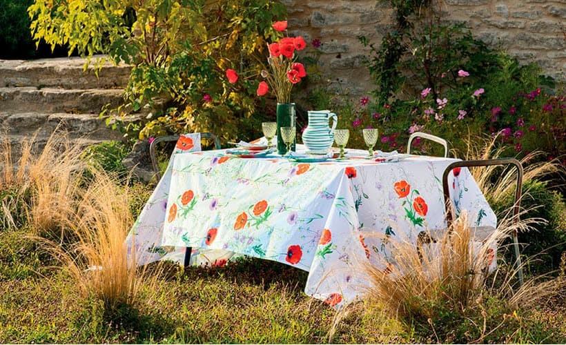 Fleckabweisende Tischdecken