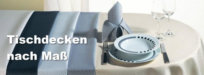 Tischdecken, Mitteldecken und Tischläufer