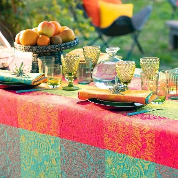 Abwaschbare Tischdecke Mille Buissons Enduit