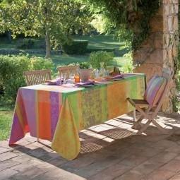 Abwaschbare Tischdecken & Tischläufer Mille Patios Enduit