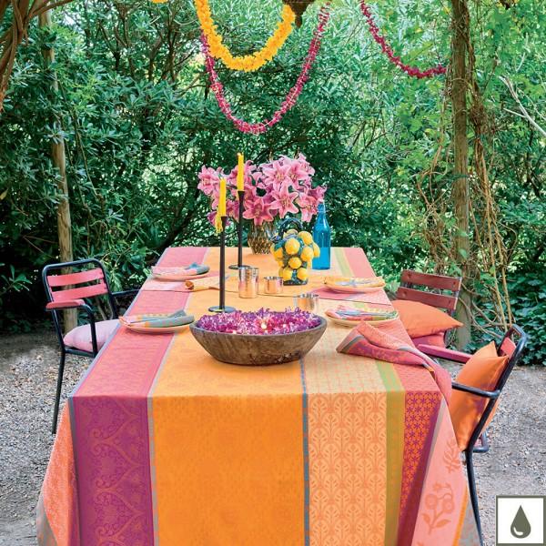 Abwischbare Tischdecke Mille Saris Enduit