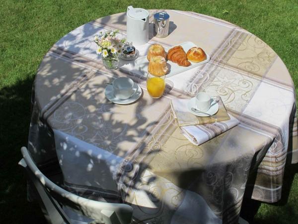 Abwaschbare Tischdecke Mille Asters Enduit
