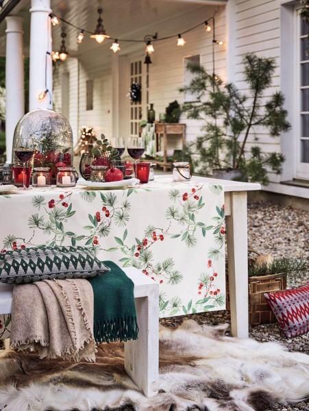Weihnachtstischdecke Adventszeit