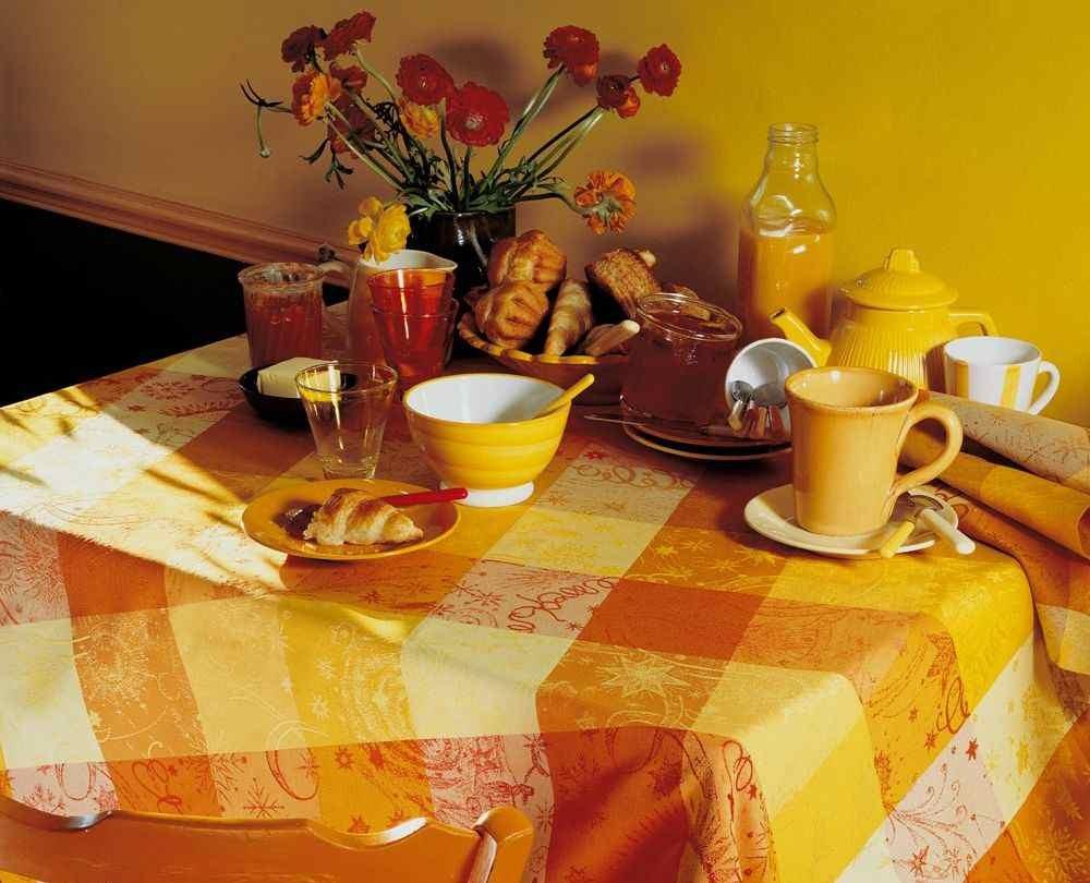 Abwaschbare Tischdecke Mille Couleurs Enduit