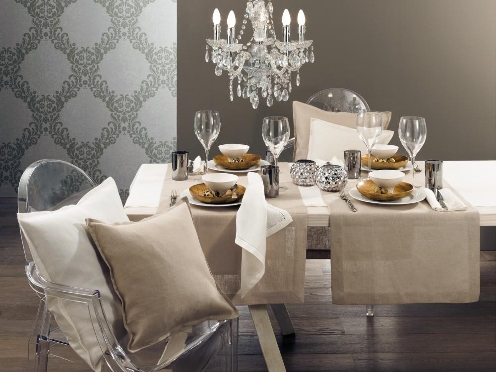 jacqueline tischdecke und tischl ufer aus 100 leinen la tavola. Black Bedroom Furniture Sets. Home Design Ideas