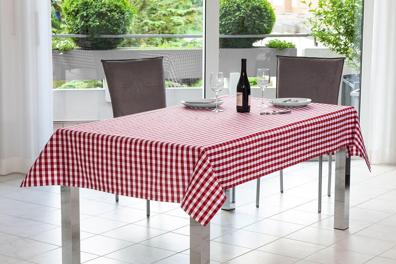 Taranto Karierte Tischdecken Und Tischlaufer Nach Mass La Tavola