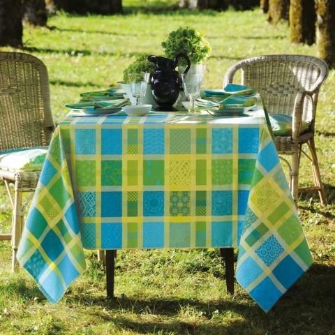 Pflegeleichte Tischdecke Mille Ladies Chlorophylle
