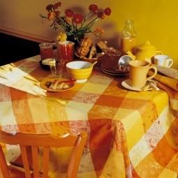Abwaschbare Tischdecken & Tischläufer Mille Couleurs Enduit