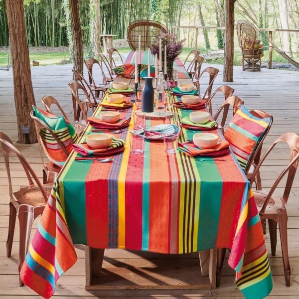 Abwaschbare Tischdecke Mille Arizona Enduit