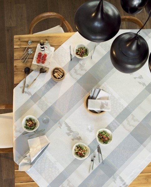 Pflegeleichte Tischdecke Mille Matieres